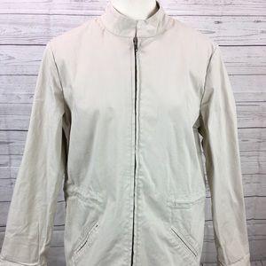 Brooks Brothers Khaki Jacket Size 12 Light Coat